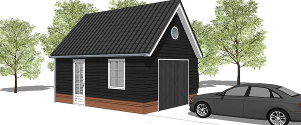 Uw Houten Garage Schuur Tuinhuis Berging Of Carport